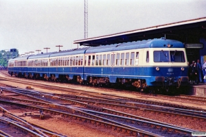 DB 614 080-0+914 035-1+914 041-9+934 563-8+614 079-2 som P 8426/P 6481 Pa-Od-Rf. Odense 22.07.1989.
