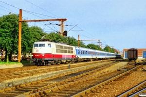 DB 103 203-6 med IP 2181 Pa-Hannover Hbf. Padborg 11.09.1997.
