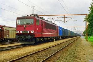 DB 155 011-0 med GD 42202. Padborg 11.09.1997.