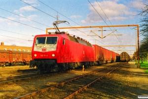 DB 120 111-0 med GD 45761. Padborg 19.03.1998.