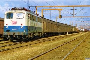 DB 140 189-2 med GD 40747. Padborg 19.03.1998.