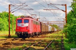 DB 140 461-5 med GD 41728. Padborg 08.07.1999.