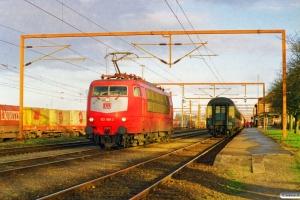 DB 103 186-3 - Lok fra IP 13274. Padborg 30.01.2000.