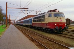 DB 103 113-7 - Materiel til IP 2181. Padborg 11.04.2001.