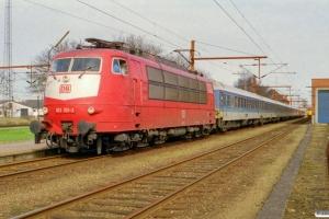 DB 103 101-2 med IP 2183 Fa-Hannover Hbf. Padborg 11.04.2001.