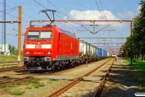 DB 185 082-5 med G 44771. Padborg 18.08.2005.