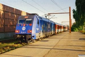 DB 101 014-9+6 CD Bmz+WRmz+Ampz+3 DB Bvmz som EC 370. Padborg 18.08.2005.