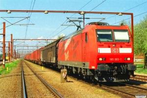DB 185 003-1 med GD 44709 Pa-Pagr. Padborg 11.05.2006.