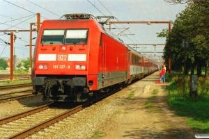 DB 101 127-9+CD Ampz+WRmz+6 Bmz+2 DB Bimz som EC 371. Padborg 18.08.2006.