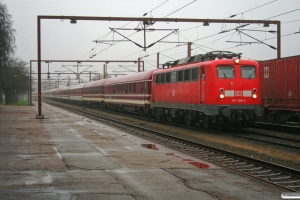 DB 110 200-3+EURO WGm+Bcomh+ZSSK Bcmh+2 EURO Bcm+Bocm+ZSSK Bcmh+EURO Bcm+WGmh+WRmh+4 Bcm som Lr 46048 Hamburg-Langenfelde-Pa. Padborg 11.08.2008.