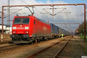 DB 185 191-4 med GK 42601. Padborg 16.03.2008.