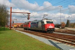 DB 101 070-1+115 114-1. Padborg 16.03.2008.
