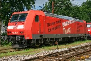 DB 185 001-5. Padborg 14.08.2008.