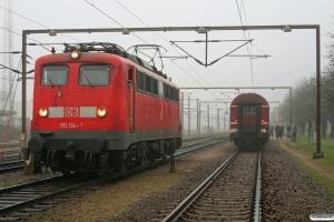 DB 115 114-1. Padborg 04.01.2009.