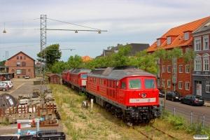 DB 232 259-2, 232 908-4 og 232 230-3. Esbjerg 20.07.2014.