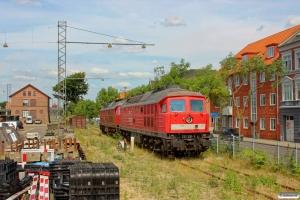 DB 232 230-3 og 232 241-0. Esbjerg 25.07.2014.