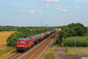 DB 232 568-6 med GD 138708 Tdr-Es. Km 42,6 Lk (Bramming-Tjæreborg) 25.07.2014.