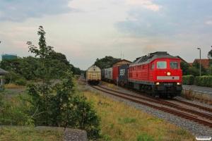 DB 232 388-9 med GD 138712 Tdr-Es. Skærbæk 02.08.2014.