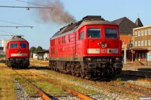 DB 232 469-7 og DB 233 321-9. Esbjerg 18.07.2015.