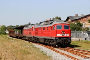 DB 232 589-2+DB 232 117-2 med GD 138613 Es-Tdr. Tønder 03.08.2015.