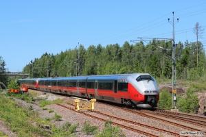 NSB BM 73041+BM 73042 som RST 394. Råskogen 09.06.2014.