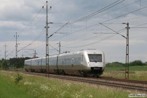 SJ X55 3357 som TJT 10720. Linköping - Linghem 07.06.2012.