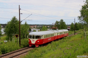 TKAB X20 202 som TJT 34445. Rättvik - Tällberg 12.06.2013.
