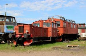 SJ Zsh 102 og Du2 349. Kristinehamn 08.05.2016.