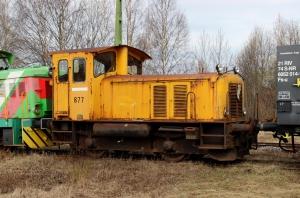 TTT 877 hensat. Långsele 03.05.2016.