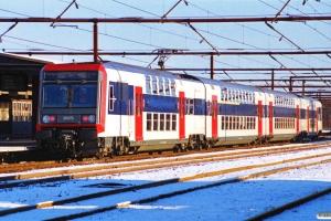SNCF 20569+20570 som P 2532 Ro-Hg. Roskilde 25.11.1989.