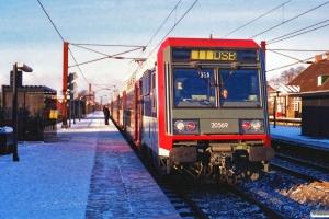 SNCF 20569+20570 som P 2532 Ro-Hg. Hedehusene 25.11.1989.