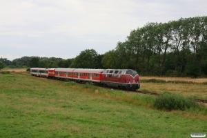 DB V 200 007+ABnrz+Bnrz+NEG HW 1+NEG VT 71 som NEG 9. Deezbüll - Maasbüll 29.07.2012.