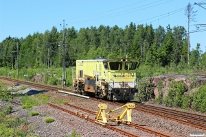 INFRA DLL 3100D som TJT 73555. Råskogen 09.06.2014.