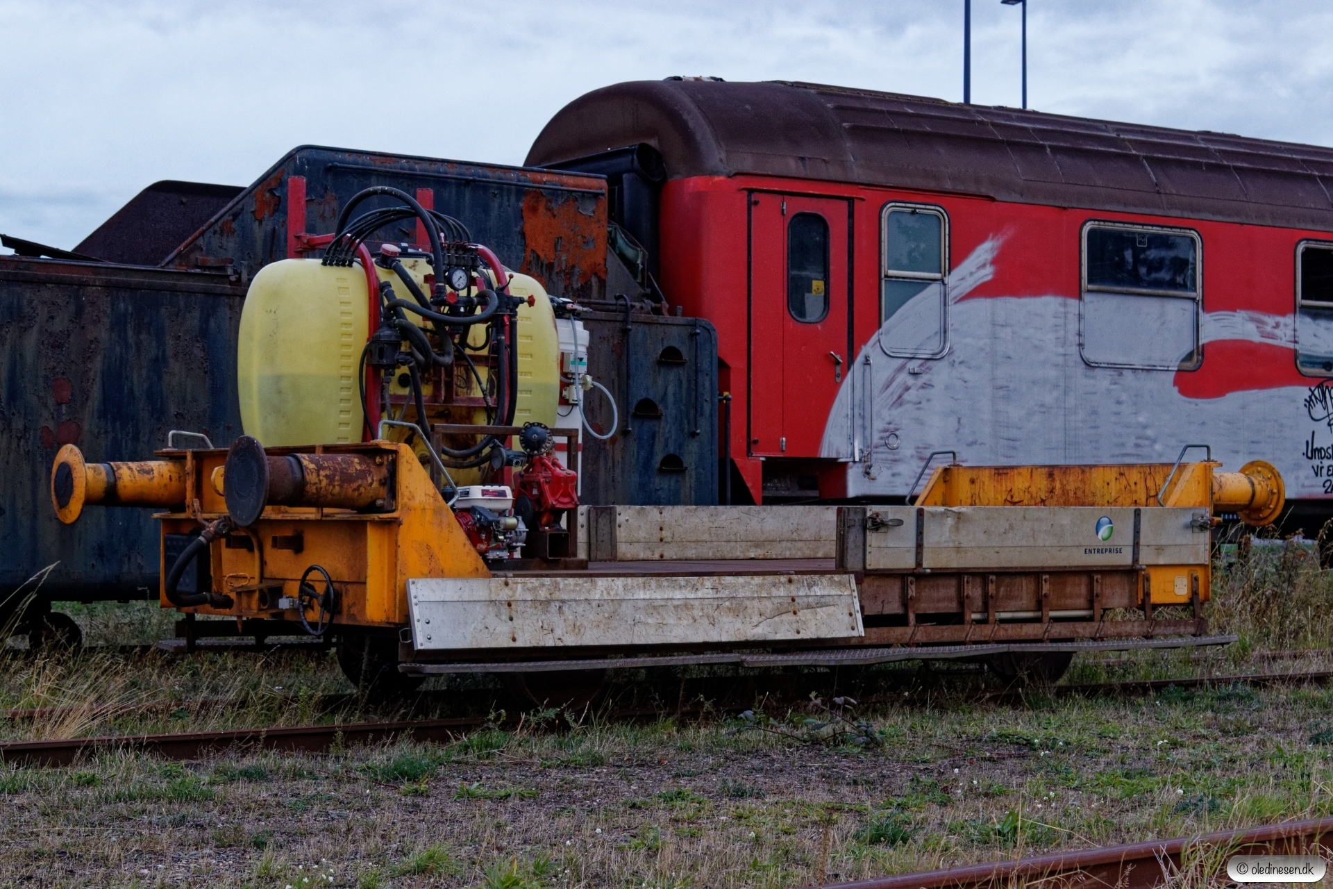 ENT Troljevogn 44a. Gedser 30.09.2018.
