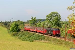 RSC MZ 1456+B 188+Bk 015+A 000 som VP 6306 Tp-Od. Km 166,2 Kh (Odense-Holmstrup) 06.09.2014.