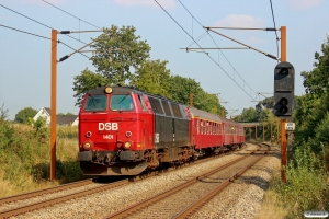DSB MZ 1401+A 000+Bk 016+B 188 som VP 6345 Od-Tp. Km 173,2 Kh (Holmstrup-Tommerup) 06.09.2014.