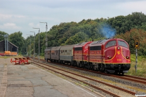 AMR MY 1155+MY 1149+Bm+WGm+Bm som DPN 5757 Tdr-Niebüll. Süderlügum 07.09.2014.