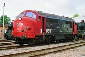 DSB MX 1001. Randers 22.09.1990.