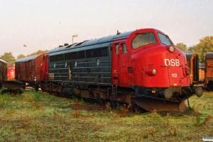 DSB MY 1112. Randers 12.10.1995.
