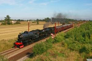 SJ F 1200+DSB E 991+CC 1132+CD 1210+AC 42+AX 393 som PP 8047 Ng-Od. Km 154,6 Kh (Marslev-Odense) 31.08.2008.