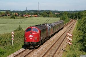 DSB MY 1159+DSB MA 460+AM 500+BMk 530+BS 480 som VM 6334 Rd-Kh. Km 5,6 Fa (Fredericia-Børkop) 05.06.2011.