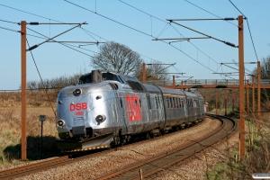 DSB MA 460+AM 500+BMk 530+BS 480 som VP 228319 Od-Tp. Km 174,2 Kh (Holmstrup-Tommerup) 05.04.2012.