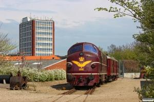 DSB MX 1001 og MO 1846. Odense 21.04.2014.
