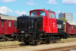 DSB MH 322. Odense 04.09.2014.