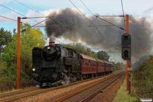 DSB S 736+AC 42+CC 1132+CD 1210+AX 393 som VP 226501 Od-Tp. Km 164,8 Kh (Odense-Holmstrup) 12.10.2014.