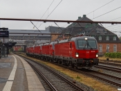 DSB EB 3218+EB 3223+EB 3222+EB 3217+EB 3219 som M 6301 Kh-Od. Odense 03.07.2021.