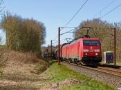 DBCSC EG 3101+EG 3108 med GD 44722 Pa-Mgb. Km 14,4 Fa (Taulov-Kolding) 18.04.2020.