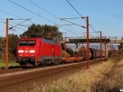 DBCSC EG 3105 med GS 44723 Mgb-Pa. Km 54,6 Fa (Sommersted-Vojens) 17.10.2020.