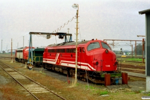 NVAG MY 1148 og TBL MY 1122. Padborg 12.04.2002.