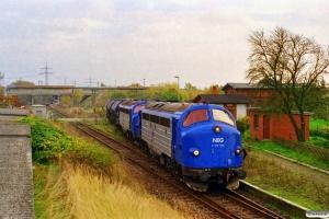 NEG V 170 1155+V 170 1147+45 Fccs. Schwerin Wüstmark 28.10.1999.